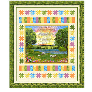 The Lord Is My Shepherd Fabric + Quilt Pattern Kit
