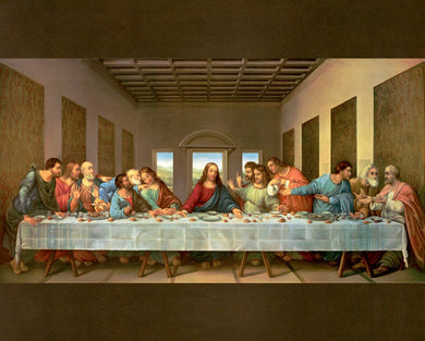 The Last Supper Cotton Fabric Panel