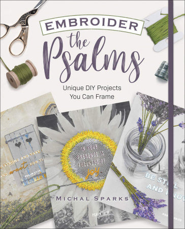 Embroider The Psalms DIY Projects Book