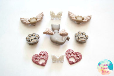 My Purrfect Cat Angel Buttons Set