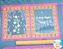 O Holy Night Soft Cotton Fabric Book Panel