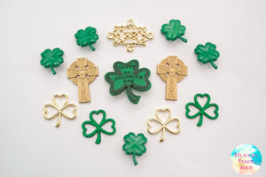 Saint Patrick's Day Celtic Creations Buttons and Charms Set