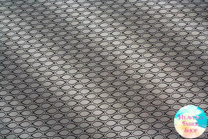 Our Father Ichthys Gray Cotton Fabric