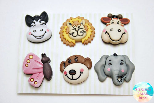 Noah's Animal Friends Button Set
