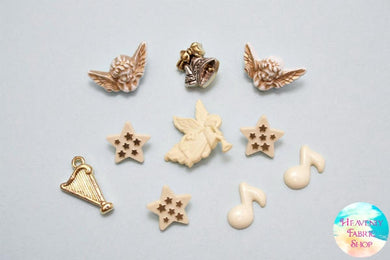 Angel's Song Button and Charms Set
