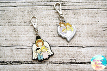 Guardian Angel Baby or Children Rubber Charms