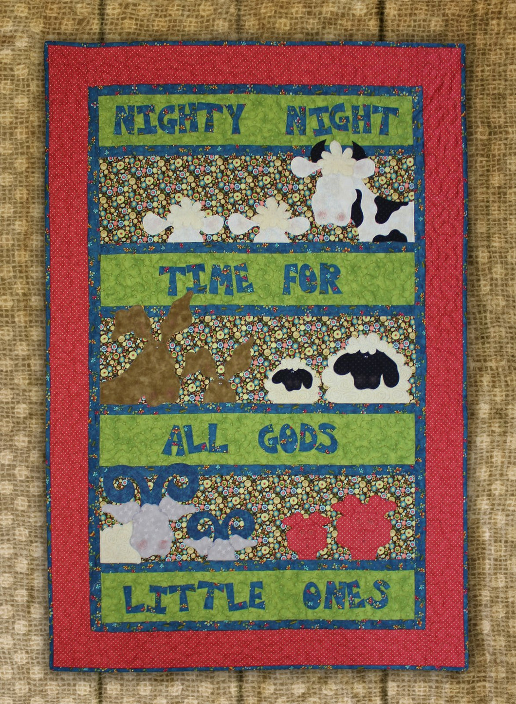 Nighty Night Time Quilt Pattern