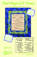 Peace Prayer of St. Francis Quilt Pattern & Fabric Panel Kit