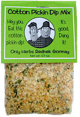 Cotton Pickin Dip Mix