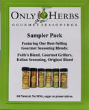 Sampler Pack - 4 Seasoning Blends