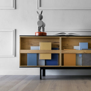 Ramblas Sideboard Black Lacquered Finish