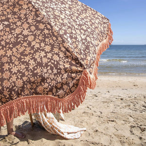Beach Umbrella Vintage Floral