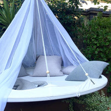 Load image into Gallery viewer, Deluxe 'Poolside' TiiPii Bed+Poncho (Medium)
