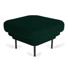 Load image into Gallery viewer, Cornice Velvet Ottoman