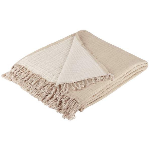 Organic Cotton Throw Sand