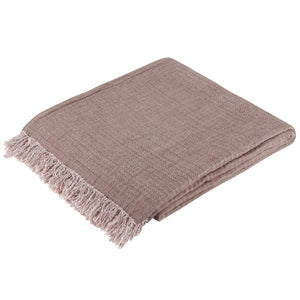 Organic Cotton Throw Cacao