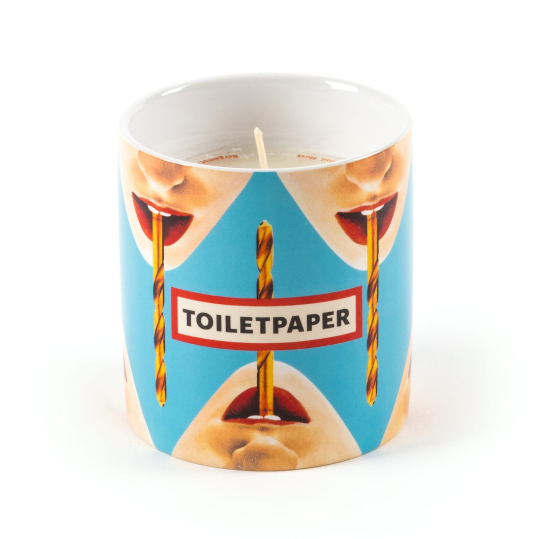 Toiletpaper Candle Heavy Metal