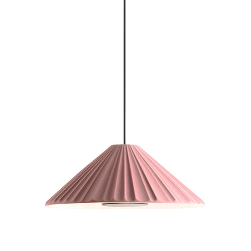 Pu-Erh Pendant Light Pink And Gold Ø 21cm - Ex Display