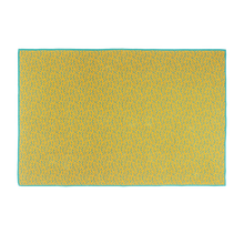 Load image into Gallery viewer, Bitmap Labyrinth Golden Ocre Throw