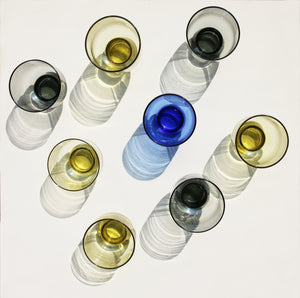 Cobalt Glass - M