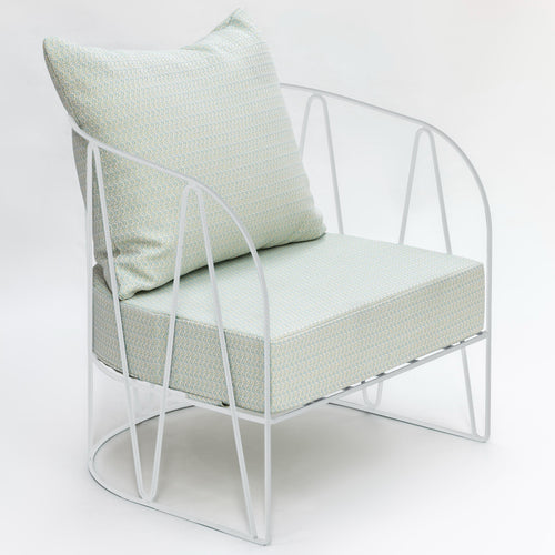 Lagarto - Outdoors Large Armchair White