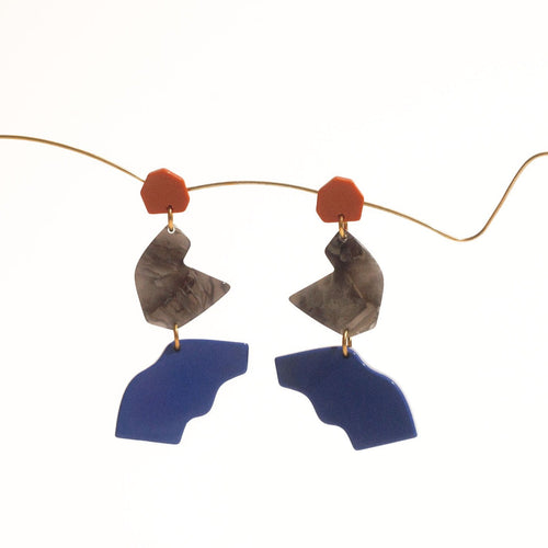 Intervalle Acetate Earrings