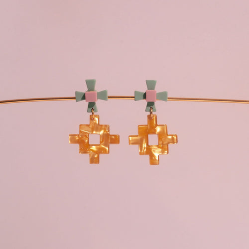 Makorou Doré Acetate Earrings