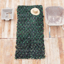 Load image into Gallery viewer, Boucharouite Moroccan Green rug