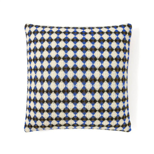 Bicolor Azulejo Square Wool Cushion