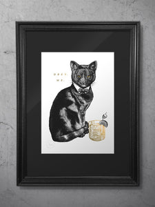 Cat-tankerous Limited Edition Print