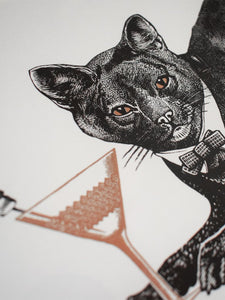 Cat-titude Limited Edition Print