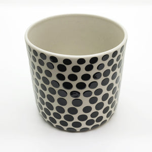 Ceramic Polka Dot Planter