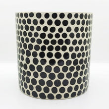 Load image into Gallery viewer, Ceramic Polka Dot Planter
