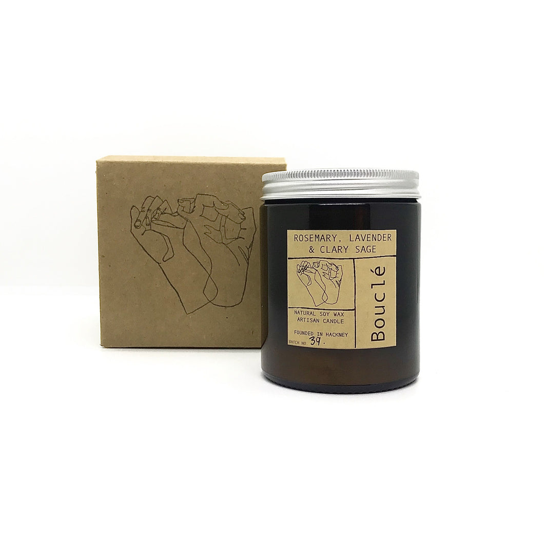 Ginger Black Pepper & Mandarin Rind Soy Wax Candle (180 ml)