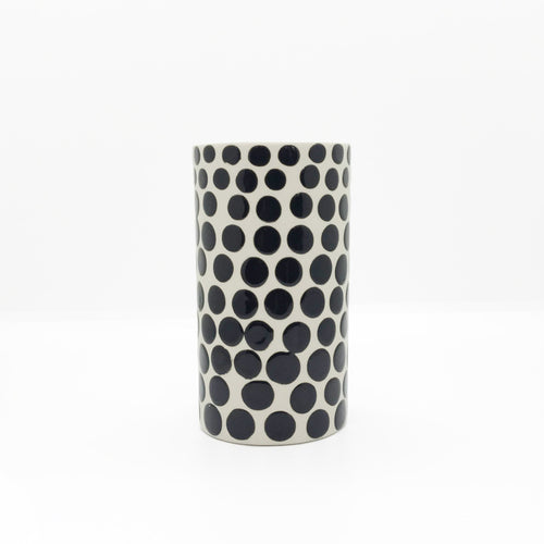 Ceramic Short Dots Vase