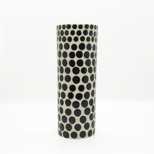 Ceramic Tall Dots Vase