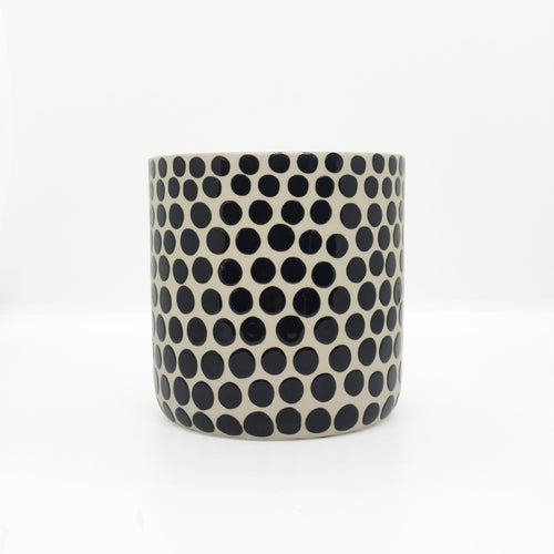 Ceramic  Small Dots Planter