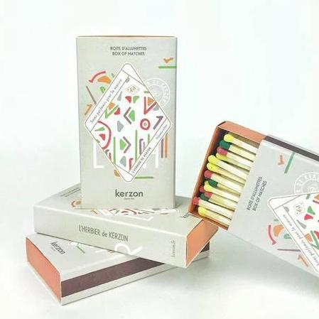Colorful Pack of 58 Matches