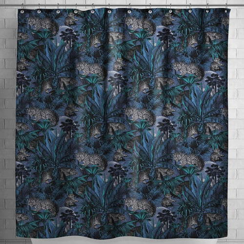 Nocturnal Faunacation Shower Curtain