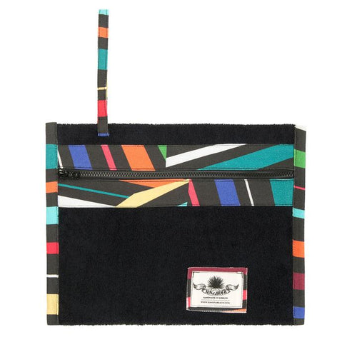 Majorca Tiles Black Holiday Pochette
