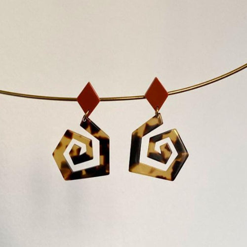Octave Acetate Earrings