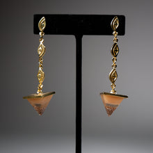 Load image into Gallery viewer, Pyramid Eyes Earrings