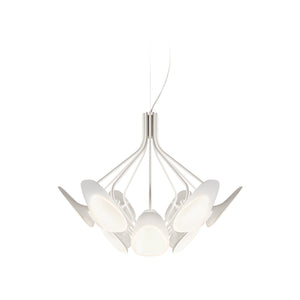 Peacock - White - Suspension Lamp