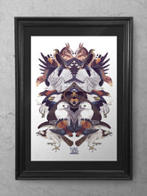 Load image into Gallery viewer, Savage Birds Limited Edition Print