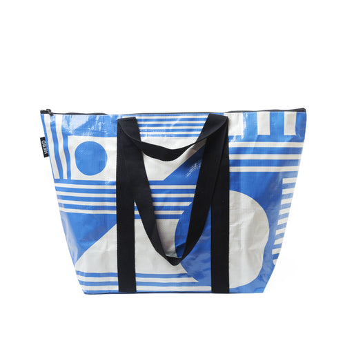 HERD tote bag 'The Santorini' Medium - zip top