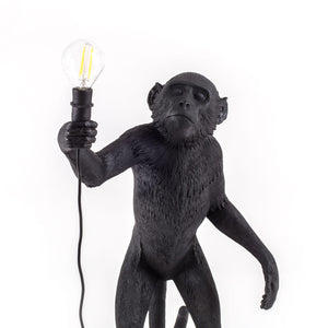 The Monkey Lamp Black Standing Version