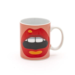 Mouth Porcelain Mug By Studio Job
