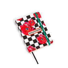 "Load image into Gallery viewer, A6 Notebook ""Roses On Chess Pad"" by TOILETPAPER"