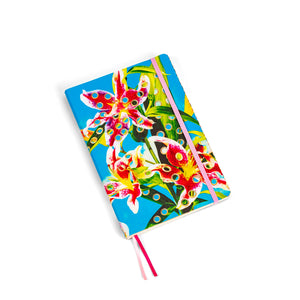 Toiletpaper Big Notebook Flowers with Holes