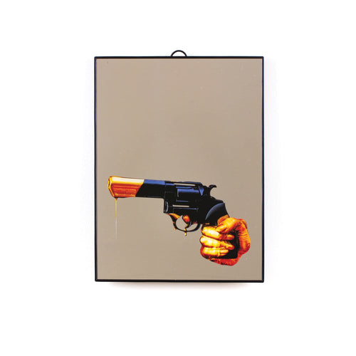 Plastic Medium Mirror Revolver by TOILETPAPER